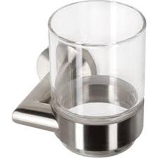 Sanistunter - Geesa stainless steel collection Glashouder